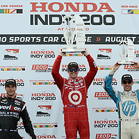 2012 INDYCAR RACING MID OHIO