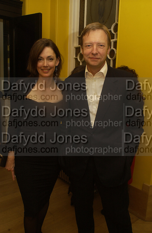 Richard and Judith Greer, Serpentine Hiroshi Sugimoto Private view  and party after wards at the Notting Hill home of Richard and Judith Greer,  © Copyright Photograph by Dafydd Jones 66 Stockwell Park Rd. London SW9 0DA Tel 020 7733 0108 www.dafjones.com
