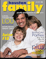 Houston Family Cover June 2009  Lou Savarese