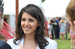 KATIE MELUA at the Cartier Queen's Cup Polo Final, Guards Polo Club, Windsor Great Park, Berkshire, on 17th June 2012.