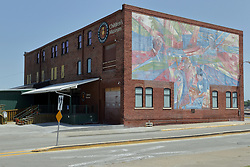 Building Mural - Galesburg Children's Discovery Museum