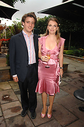 CHARLES & LADY SYBILLA HART at the Tatler magazine Summer Party, Home House, Portman Square, London W1 on 27th June 2007.<br /><br />NON EXCLUSIVE - WORLD RIGHTS