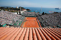Illustration Court Central - 14.04.2015 - Tournoi de Monte Carlo - Masters 1000 -<br /> Photo : Serge Haouzi / Icon Sport