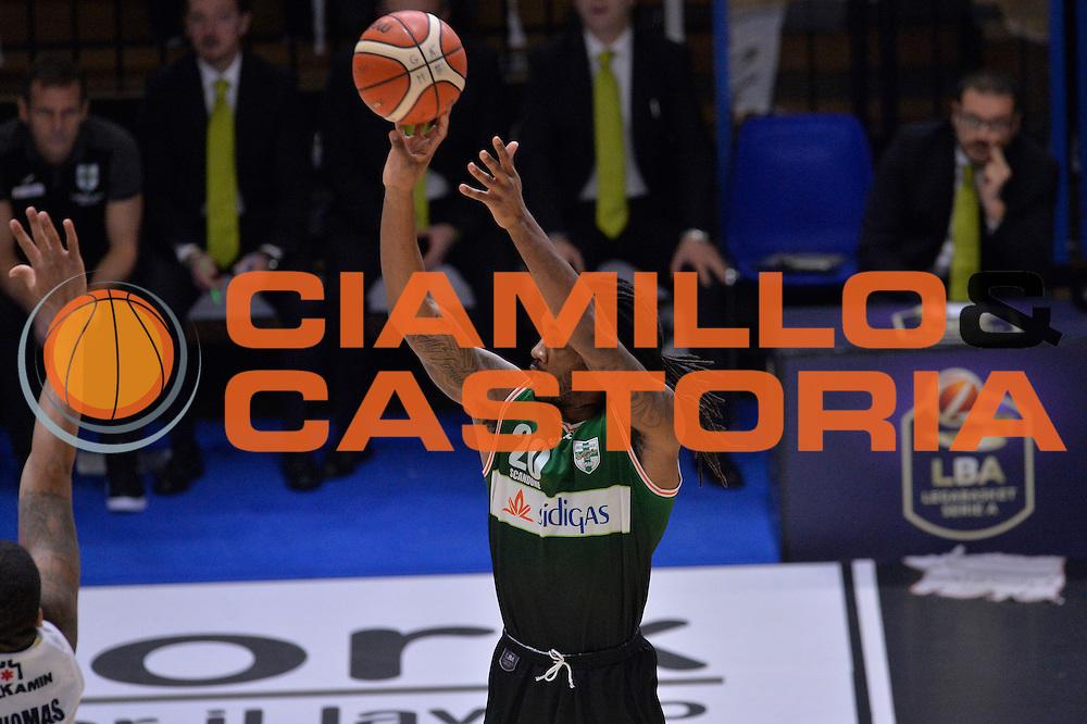 Levi Randolph<br /> Vanoli Cremona - Sidigas Avellino<br /> Lega Basket Serie A 2016/2017<br /> Cremona, 18/12/2016<br /> Foto Ciamillo-Castoria