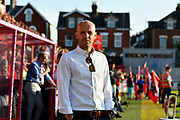 Exeter City manager Paul Tisdale before the EFL Sky Bet League 2 match between Exeter City and Lincoln City at St James' Park, Exeter, England on 17 May 2018. Picture by Graham Hunt.