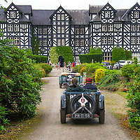 Manuel Enes Alexandra Pombo in their MG J2 on the Royal Automobile Club 1000 Mile Trial 2015