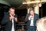 MATTHEW WARCHUS; DAVID HIRSON, LA BæTE PRESS NIGHT, COMEDY THEATRE, PANTON STREET, SW1 After party at CafŽ de Paris, 3-4 Coventry Street, 7 July 2010. .-DO NOT ARCHIVE-© Copyright Photograph by Dafydd Jones. 248 Clapham Rd. London SW9 0PZ. Tel 0207 820 0771. www.dafjones.com.<br />