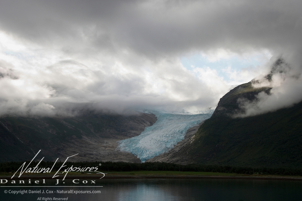 Svartisen Glacier, Norway's second largest glacier.