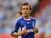 Fotball<br /> Tyskland<br /> Foto: Witters/Digitalsport<br /> NORWAY ONLY<br /> <br /> 29.08.2009<br /> <br /> Rafinha Schalke, letztes Spiel im Schalke Trikot<br /> Bundesliga FC Schalke 04 - SC Freiburg