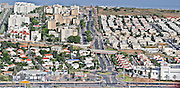 Aerial view of Nahariya, Galilee, Israel