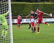 Matthew Henvey scores a late equaliser for Dundee  - Aberdeen v Dundee, SPFL Under 20s League at Glebe Park, Brechin<br /> <br />  - &copy; David Young - www.davidyoungphoto.co.uk - email: davidyoungphoto@gmail.com