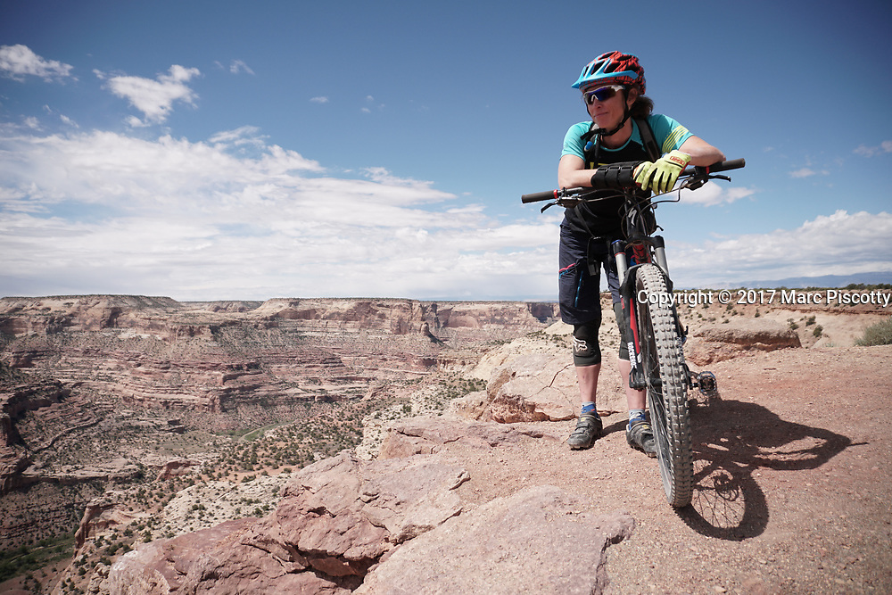 SHOT 5/21/17 11:52:19 AM - Emery County is a county located in the U.S. state of Utah. As of the 2010 census, the population of the entire county was about 11,000. Includes images of mountain biking, agriculture, geography and Goblin Valley State Park. (Photo by Marc Piscotty / © 2017)