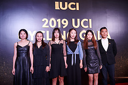China Liv Pro Cycling at UCI Cycling Gala 2019 in Guilin, China on October 22, 2019. Photo by Sean Robinson/velofocus.com