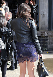 Daisy Lowe at the Christopher Kane show at London Fashion Week Spring/Summer 2014, Monday, 16th September 2013. Picture by Stephen Lock / i-Images