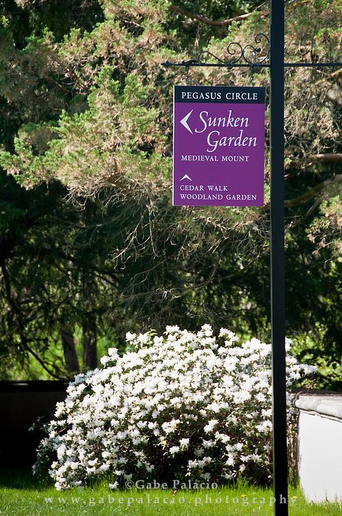 Springtime at Caramoor in Katonah, New York.