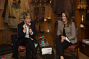CLARE BALDING; SOPHIE MONEY-COUTTS, Tatler and Dubarry host an evening with Clare Balding, Dubarry of Ireland, 34 Duke of York's Sq. London. 13 October 2016.
