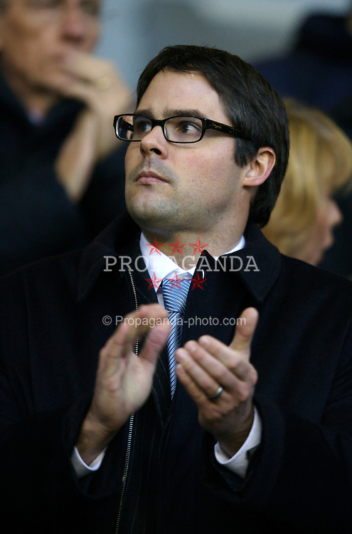LIVERPOOL, ENGLAND - Sunday, December 2, 2007: Liverpool's Director Foster Gillett before the Premiership match against Bolton Wanderers at Anfield. (Photo by David Rawcliffe/Propaganda)