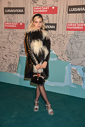 Joanna Kuchta at the Fabulous Fund Fair in aid of Natalia Vodianova's Naked Heart Foundation in association with Luisaviaroma held at The Round House, Camden, London England. 18 February 2019.