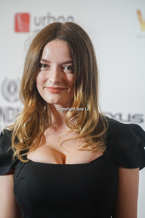 London, UK, 20th September 2017. Dakota Blue Richards is a ITV Endeavour attend Raindance 25th Film Festival Opening Gala at VUE Leicester Square.