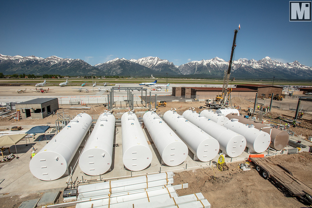 Cherokee Enterprises, Inc., New tank installs at the Jackson Hole Airport in Jackson, WY