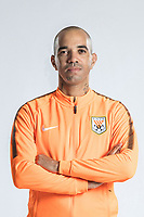 **EXCLUSIVE**Portrait of Brazilian soccer player Diego Tardelli of Shandong Luneng Taishan F.C. for the 2018 Chinese Football Association Super League, in Ji'nan city, east China's Shandong province, 24 February 2018.