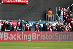 BackingBristolSport LED ad board as fans leave after West Ham win the game 0-1 - Photo mandatory by-line: Rogan Thomson/JMP - 07966 386802 - 25/01/2015 - SPORT - FOOTBALL - Bristol, England - Ashton Gate Stadium - Bristol City v West Ham United - FA Cup Fourth Round Proper.