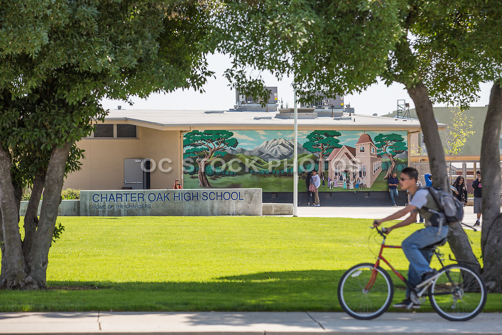 Charter Oak High School in Covina Home of the Chargers