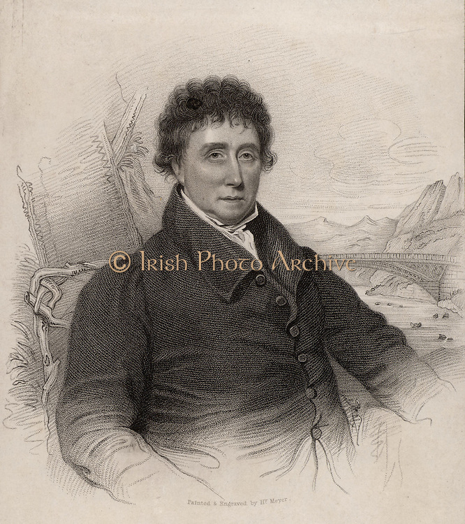 Thomas Telford (1757-1834) Scottish civil engineer, born at Westkirk, Langholm.   Apprenticed to a stonemason at the age of 14, he became the eminent civil engineer of his generation and was called the Colossus of Roads for the improvements he made to 1,000 miles of roads.  Among his works are the Ellesmere Canal which included the Chirk viaduct and the Pont Cysylte aqueduct, the Caledonian Canal, improvements to the London to Holyhead road which included the Menai  Suspension Bridge, and St Katherine's Docks, London.