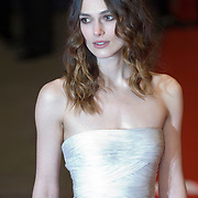LONDON - FEBRUARY 10:Actress Keira Knightley arrives at the Orange British Academy Film Awards at the Royal Opera House on February 10, 2008 in London, England.