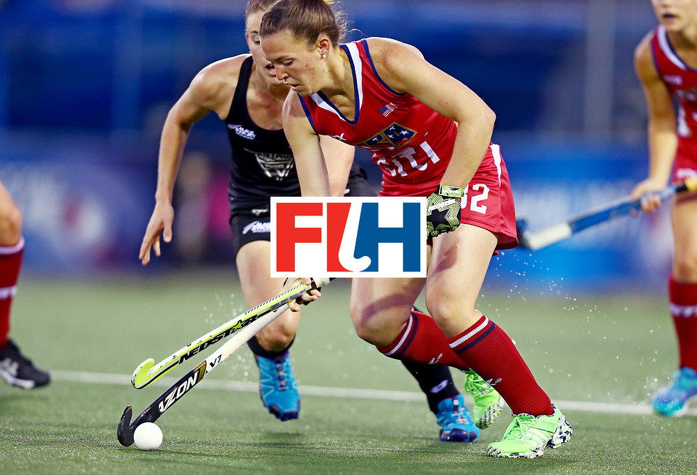 New Zealand, Auckland - 20/11/17  <br /> Sentinel Homes Women&rsquo;s Hockey World League Final<br /> Harbour Hockey Stadium<br /> Copyrigth: Worldsportpics, Rodrigo Jaramillo<br /> Match ID: 10300 - NZL vs USA<br /> Photo: (32) MC CRUDDEN Erin