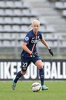 Caroline Seger  - 20.12.2014 - PSG / Montpellier - 14eme journee de D1<br /> Photo : Andre Ferreira / Icon Sport