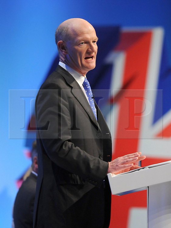 © Licensed to London News Pictures. 04/10/2011. MANCHESTER. UK. The Rt Hon David Willetts MP at The Conservative Party Conference at Manchester Central today, October 4, 2011. Photo credit:  Stephen Simpson/LNP