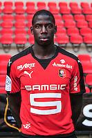 Abdoulaye Doucoure - 15.09.2015 - Photo officielle Rennes - Ligue 1 2015/2016<br /> Photo : Philippe Le Brech / Icon Sport