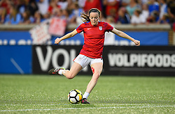 September 19, 2017 - Cincinnati, OH, USA - Cincinnati, OH - Tuesday September 19, 2017: Rose Lavelle during an International friendly match between the women's National teams of the United States (USA) and New Zealand (NZL) at Nippert Stadium. (Credit Image: © Brad Smith/ISIPhotos via ZUMA Wire)