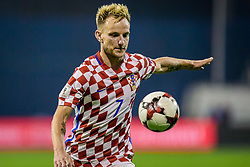 Ivan Rakitic of Croatia during the football match between National teams of Croatia and Greece in First leg of Playoff Round of European Qualifiers for the FIFA World Cup Russia 2018, on November 9, 2017 in Stadion Maksimir, Zagreb, Croatia. Photo by Ziga Zupan / Sportida
