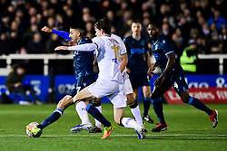 Liam Sercombe of Bristol Rovers is challenged by Billy Bingham of Bromley - Mandatory by-line: Ryan Hiscott/JMP - 19/11/2019 - FOOTBALL - Hayes Lane - Bromley, England - Bromley v Bristol Rovers - Emirates FA Cup first round replay