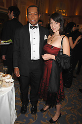 LORD TAYLOR OF WARWICK and ANNA McDERMOTT at the Eastern Eye Asian Business Awards 2007 in the presence of HRH The Duke of York at the Hilton Park Lane, London on 8th May 2007.<br />