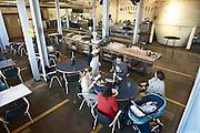 Nederland, Nijmegen, 5-1-2014De Meesterproef, nieuw restaurant in de Honig.Het ontruimde fabriekscomplex van de Honig fabriek.De gemeente wilde het fabrieksterrein gebruiken voor woningbouw, nieuwbouw woningen. Door de crisis op de woningmarkt is dit plan uitgesteld en vinden er af en toe culturele activiteiten plaats. Foto: Flip Franssen/Hollandse Hoogte