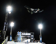 Iouri Podladtchikov (IPOD) at the Winter X Games in Aspen, Colorado.