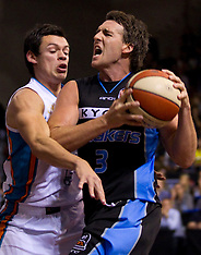 Auckland-Basketball, Breakers v Blaze, ANBL 2011-12 - Round 24