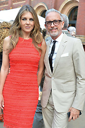 Liz Hurley and Patrick Cox at the V&A Summer Party 2017 held at the Victoria & Albert Museum, London England. 21 June 2017.