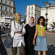 Algeria. Constantine. city center, the old city on the rock, First november square ,     / Algerie, Constantine.  centre ville sur le rocher, place du 1er novembre    29