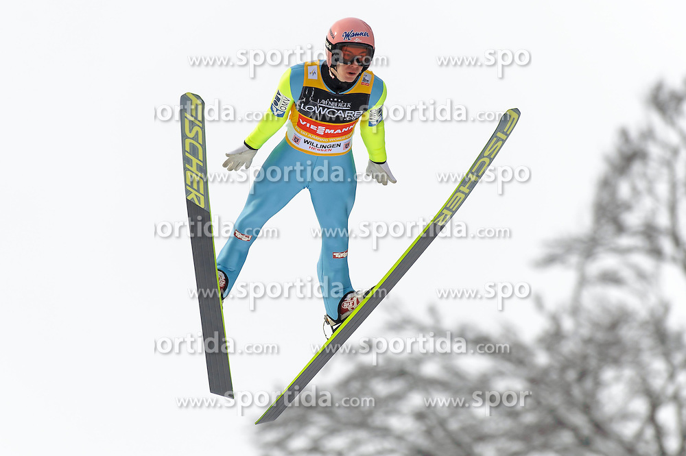 01.02.2015, M&uuml;hlenkopfschanze, Willingen, GER, FIS Weltcup Ski Sprung, Willingen, im Bild Stefan Kraft (AUT) // during men' s Large Hill competition of FIS Ski Jumping world cup at the M&uuml;hlenkopfschanze in Willingen, Germany on 2015/02/01. EXPA Pictures &copy; 2015, PhotoCredit: EXPA/ Rolf Kosecki<br /> <br /> *****ATTENTION - OUT of GER*****