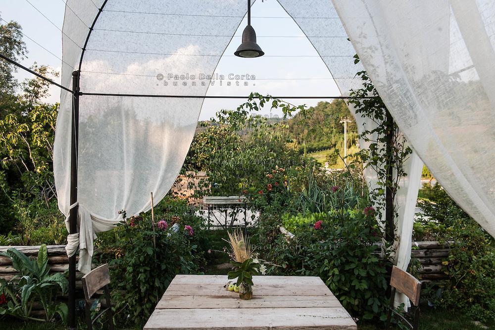 Cividale del Friuli: Orsone the Joe Bastianich Restaurant.Il giardino