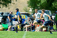 KELOWNA, BC - JULY 27: Team BCU15 Rugby at the Western Canadian Champtionships at Parkinson Fields on July 27, 2019 in Kelowna, Canada. (Photo by Marissa Baecker/Shoot the Breeze)