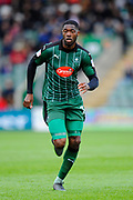 Nathan Blissett (13) of Plymouth Argyle during the EFL Sky Bet League 2 match between Plymouth Argyle and Accrington Stanley at Home Park, Plymouth, England on 1 April 2017. Photo by Graham Hunt.