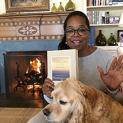 """Oprah Winfrey releases a photo on Instagram with the following caption: """"If you\u2019re fresh out of ideas for a great \ud83c\udf84gift to give...Here\u2019s one... it truly is an uplifting read. All my favorite  Aha moments from SuperSoul thought leaders.  I keep a copy by my beside table. and giving all my proceeds to help girls\u2019 education. #wisdomofsundays"""". Photo Credit: Instagram *** No USA Distribution *** For Editorial Use Only *** Not to be Published in Books or Photo Books ***  Please note: Fees charged by the agency are for the agency's services only, and do not, nor are they intended to, convey to the user any ownership of Copyright or License in the material. The agency does not claim any ownership including but not limited to Copyright or License in the attached material. By publishing this material you expressly agree to indemnify and to hold the agency and its directors, shareholders and employees harmless from any loss, claims, damages, demands, expenses (including legal fees), or any causes of action or allegation against the agency arising out of or connected in any way with publication of the material."""