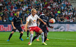 29.07.2015, Red Bull Arena, Salzburg, AUT, UEFA CL, FC Salzburg vs Malmoe FF, Qualifikation, 3. Runde, Hinspiel, im Bild v.l.: Havard Nielsen (FC Red Bull Salzburg), Enoch Kofi Adu (Malmoe) // during the UEFA Championsleague Qualifier 3rd round, 1st Leg Match between FC Salzburg and Malmoe FF at the Red Bull Arena in Salzburg, Austria on 2015/07/29. EXPA Pictures © 2015, PhotoCredit: EXPA/ JFK