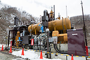 Det geotermiska kraftverket i Tsuchiyu Onsen.<br /> <br /> The geothermal binary plant at the Tsuchiyu Onsen.<br /> <br /> Fotograf: Christina Sjögren<br /> <br /> Copyright 2018, All Rights Reserved