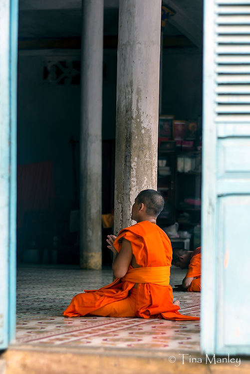 Vietnam's Khmer minority are almost all followers of Theravada Buddhism. Between the ages of 15 and 20, most boys set aside a few months to live as monks (they decide themselves on the length of service). Khmer monks are allowed to eat meat, but cannot kill animals.<br /> <br /> Read more: http://www.lonelyplanet.com/vietnam/mekong-delta/tra-vinh#ixzz3IyGSnaPP